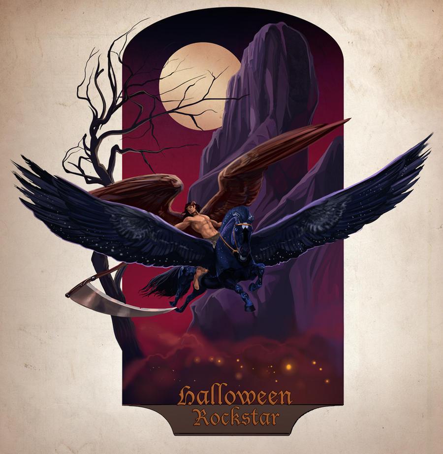 Halloween Rockstar by Templado