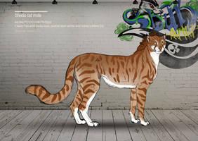 Shedu cat male 132 by Templado