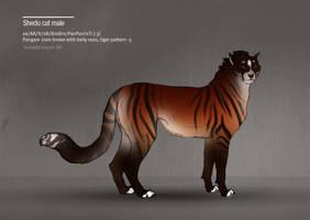 Shedu cat male 347 by Templado