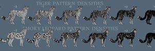 Shedu pattern densities explanation