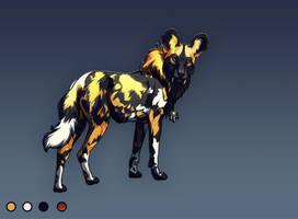 African Dog Design