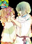 ~Chihiro and Kohaku~ Studio_Ghibli