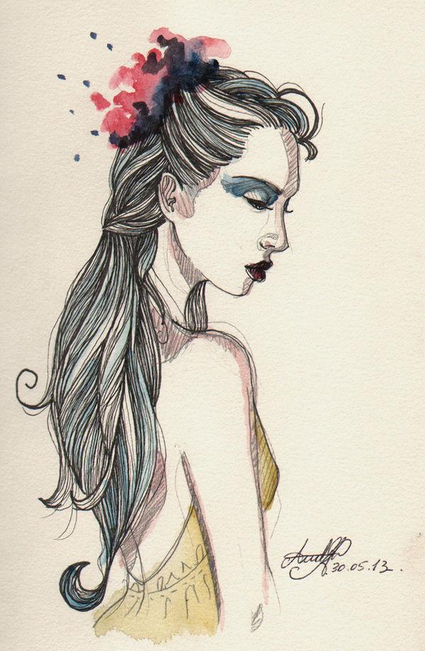 Blue Hair by A-Loss