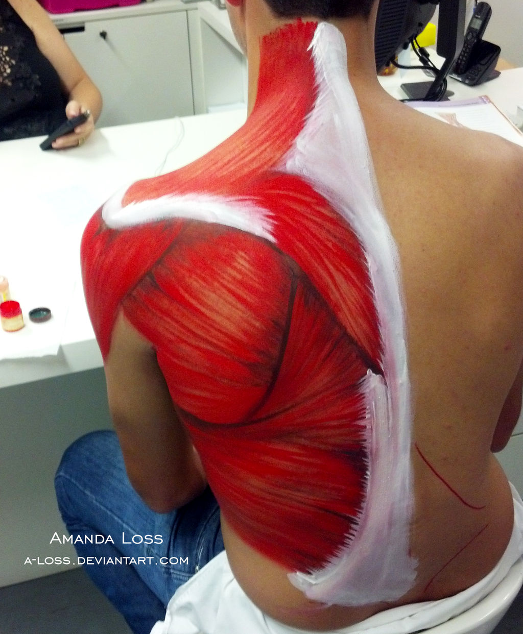 Back Muscles 2 by A-Loss