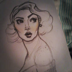 Pin-up Sketch