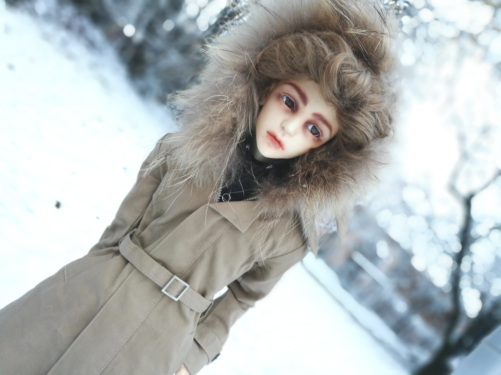 Snowy Day by ShiroUsagichan