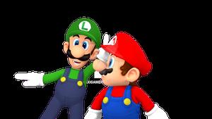 Mario and Luigi 3D Render (Blender 2.65)