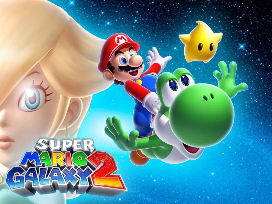 Super Mario Galaxy Wallpapers: 1024x768 Super Mario Galaxy 2 Wallpaper By MaxiGamer On
