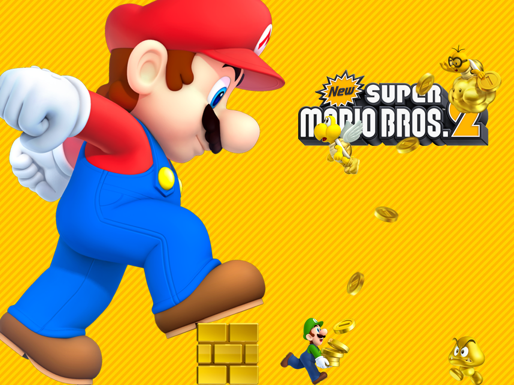 1024x768 new super mario bros 2 wallpaper larger by. Black Bedroom Furniture Sets. Home Design Ideas