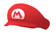[Photoshop 7.0] Mario's cap vector by MaxiGamer