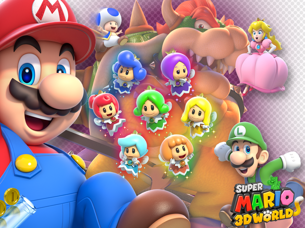 1024 X 768 Super Mario 3d World Wallpaper By Maxigamer On Deviantart