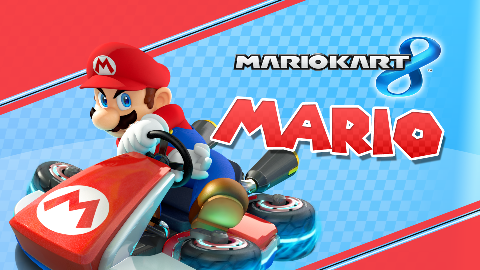 Mario Kart 8 Background: 1920 X 1080 Mario Kart 8 Wallpaper By MaxiGamer On