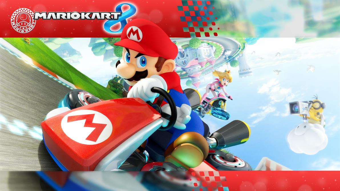Mario Kart 8 Background: 1920 X 1080 Mario Kart 8 Wallpaper By MaxiGamer On DeviantArt