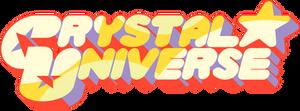 [Photoshop] Crystal Universe font Logo