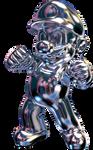 [3D Render] METAL MARIO