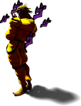 [Blender] DIO in his Shadow DIO Pose