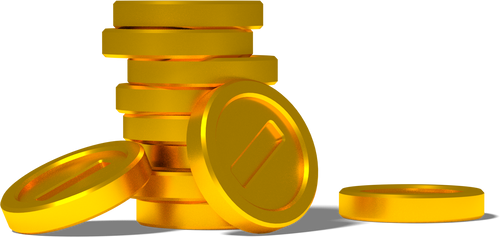 [Blender Cycles] Stack of coins (test render) by MaxiGamer