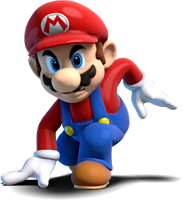 [Blender] Metal Mario Trophy Pose (Mario Variant) by MaxiGamer