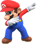 [Cycles] Mario but he's unironically dabbing.