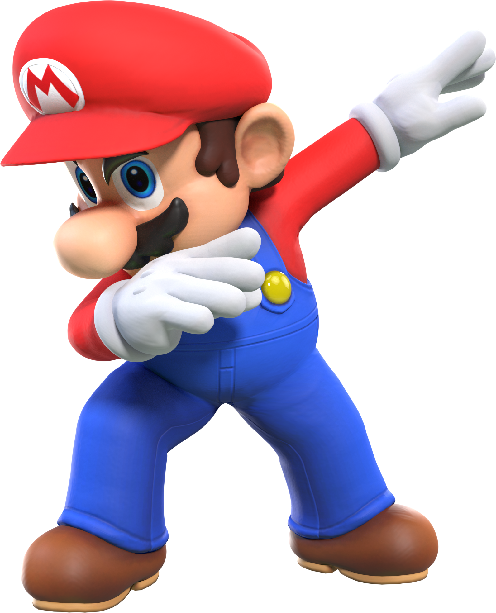 cycles mario but he s unironically dabbing by maxigamer on deviantart