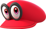 [Cycles] Cappy from Super Mario Odyssey