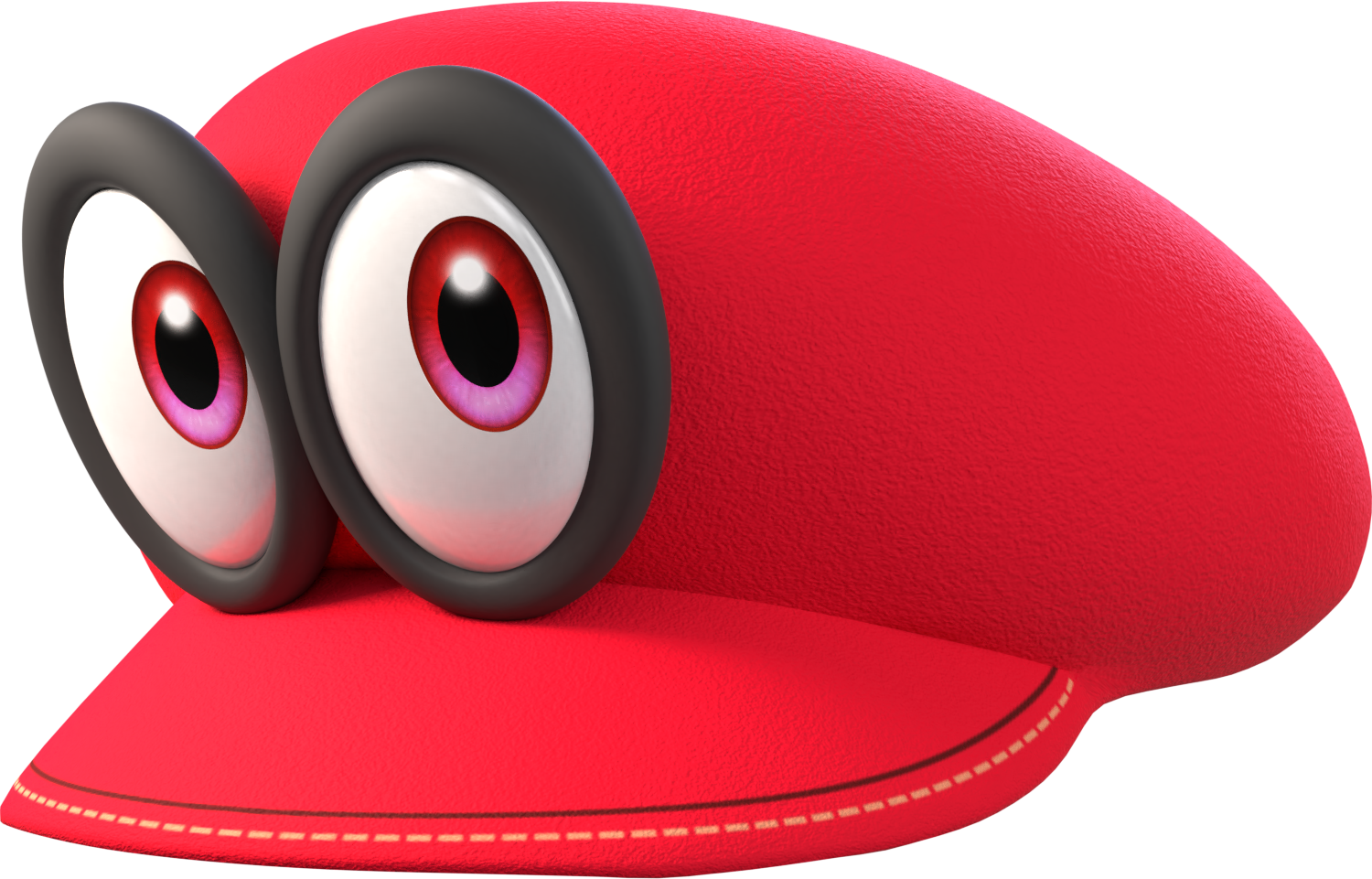 Cycles Cappy From Super Mario Odyssey By MaxiGamer On