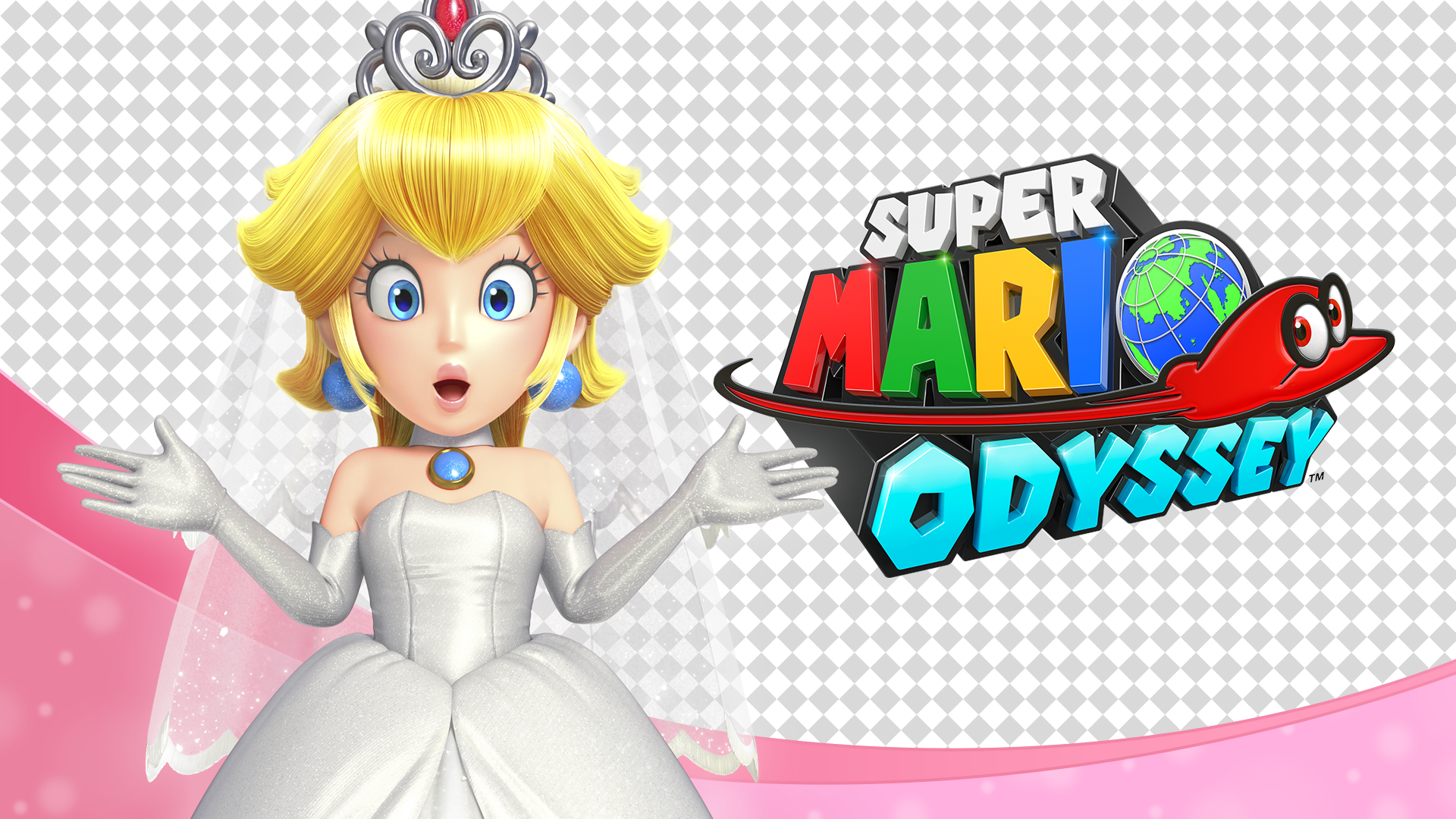 [Wallpaper] Princess Peach, Soon-to-Wed(1920x1080) by ...
