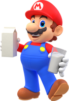 [Cycles] Mario Goes to the Fridge to Get Some Milk by MaxiGamer
