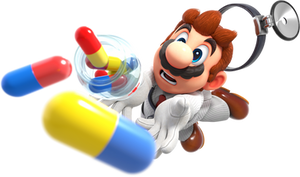 [Cycles] Dr. Mario Drops his Meds Like an Idiot
