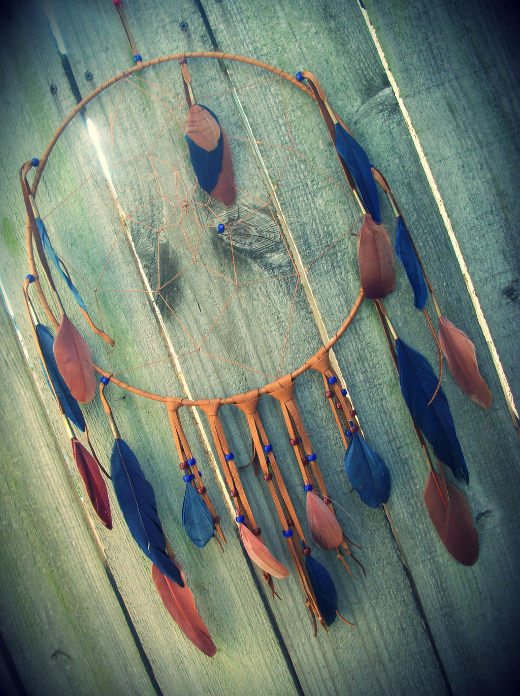 Large Dream Catcher For Sale Large Dream Catcher Navy Blue and Brown by xsaraphanelia on DeviantArt 39