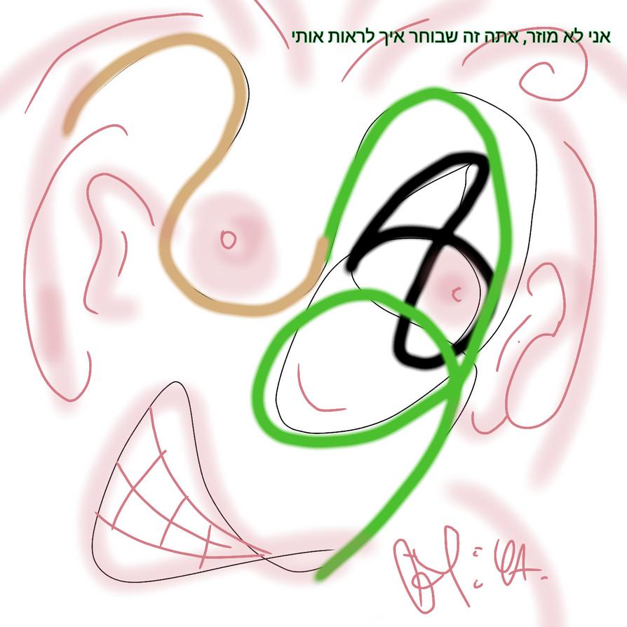 Im not strange, u have a power how see me (hebrew) by YA2012