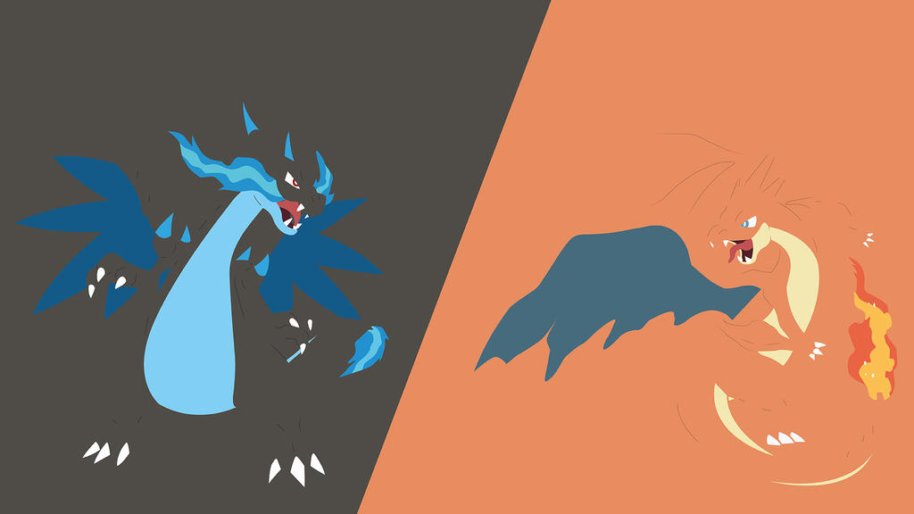Charizard Mega Evolutions Wallpaper By DrPokeLover