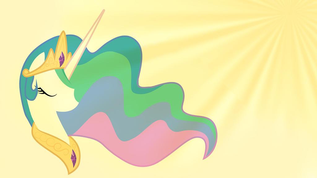 mlp fim princess celestia wallpaper by drpokelover on
