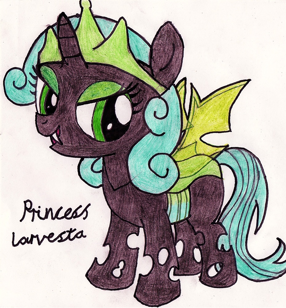 Mlp princess larva