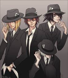 Wammy's Justice Club by mero-ix
