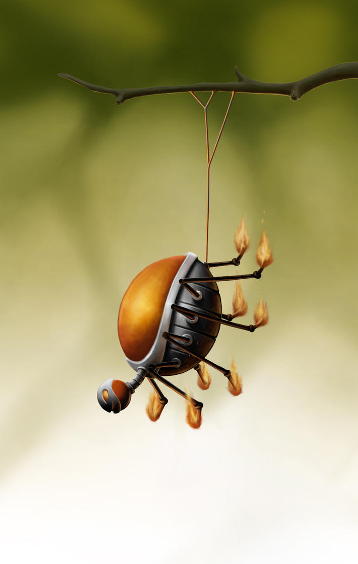 Spider Bomb by thebooklocker