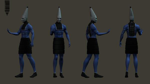 PencilCase Character Design by thebooklocker