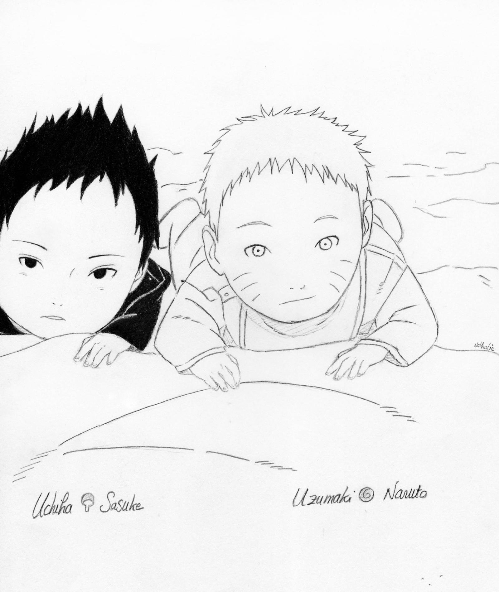 Baby Sasuke and Baby Naruto by Sakura5192 on DeviantArt