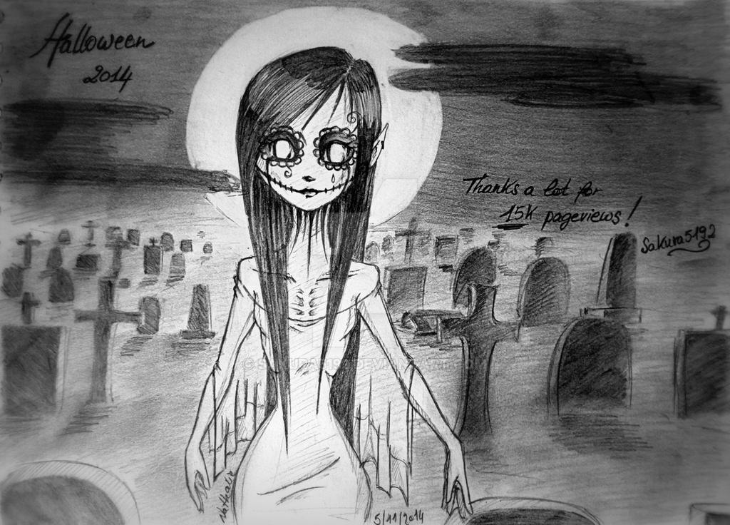 Halloween 2014 - Thank to viewers - 15k ! by Sakura5192
