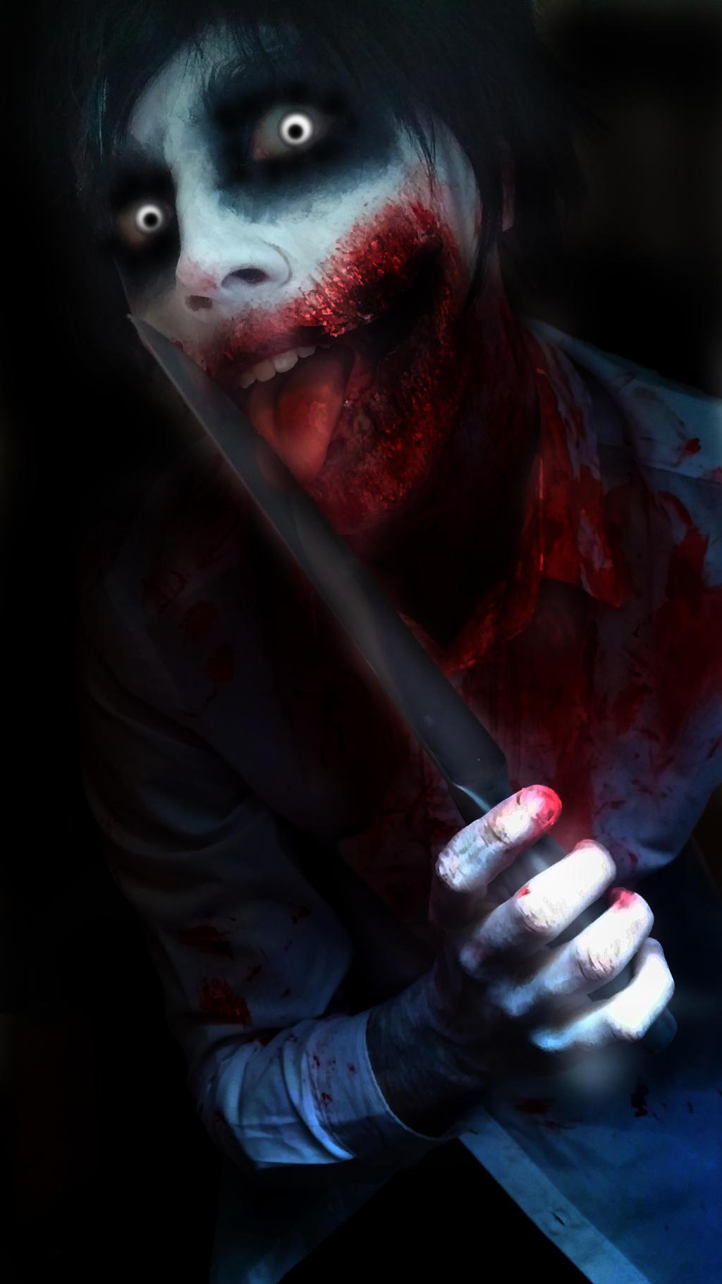 Cosplay jeff the killer