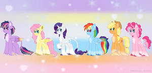 the mane six redesign