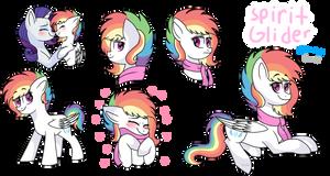 Next gen- spirit glider character concept art