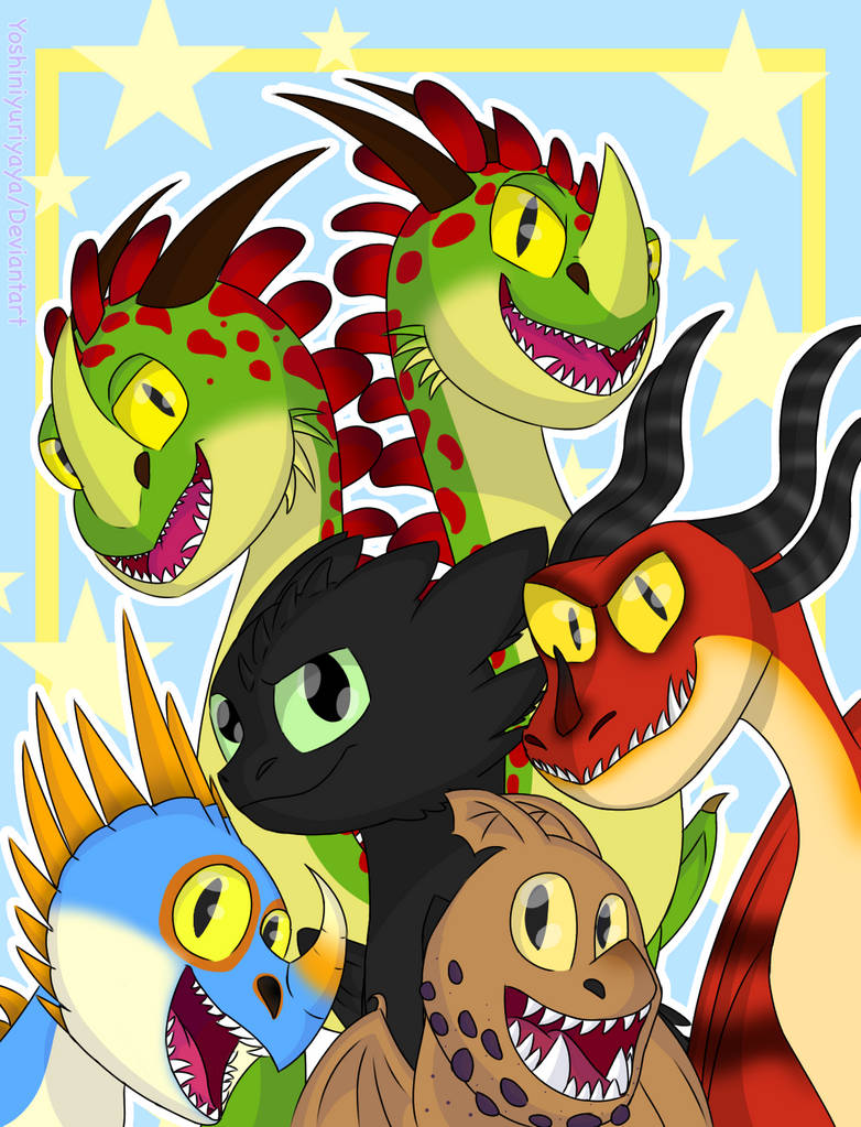 HTTYD- The Dragons