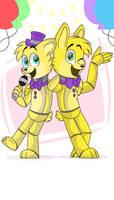 Fredbear and Springbonnie