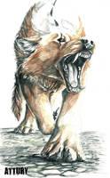 Settisa wolf by Attury-Co