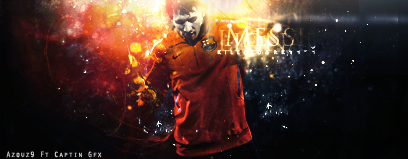 Messi Ft Azouz by CaPtiNGfx