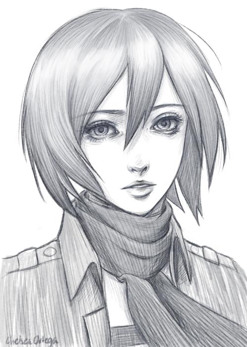 Mikasa ackerman by munette