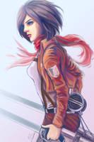Mikasa Ackerman 2 by munette
