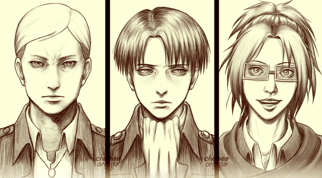 The Squad Leaders by munette