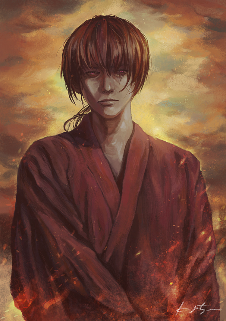 Rurouni Kenshin by munette on DeviantArt